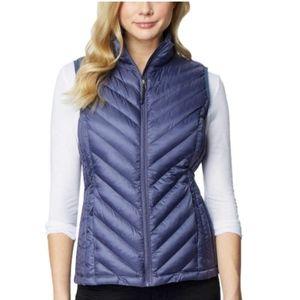 32 DEGREES Womens Packable Vest ORION BLUE